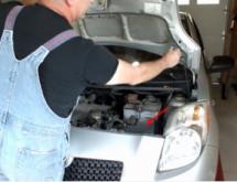 Замена воздушного фильтра Toyota Yaris