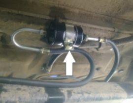Замена топливного фильтра ВАЗ 21099 инжектор