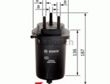 Замена топливного фильтра Рено Меган 2