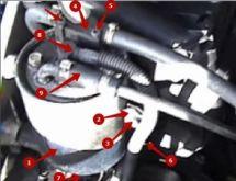 Замена топливного фильтра на Мерседес Спринтер