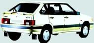 Замена воздушного фильтра ВАЗ 2114
