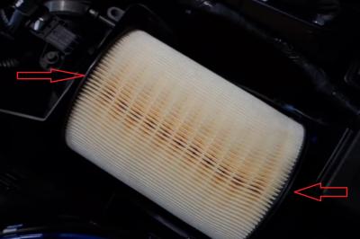 Замена воздушного фильтра на Форд Фокус