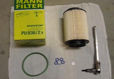 Замена топливного фильтра Фольксваген Джетта