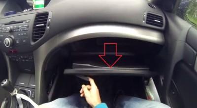 Замена салонного фильтра на Honda Accord