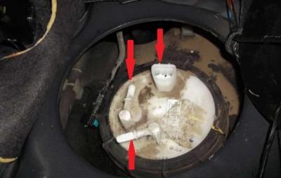 топливный фильтр на киа соренто бензин фото