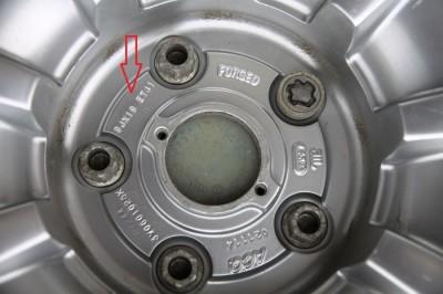 маркировка японских штампованных дисков