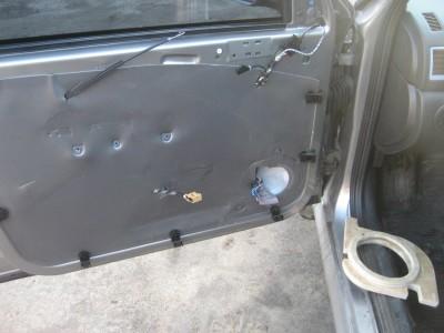 Шумоизоляция двери авто какие материалы требуются